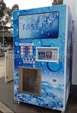 Hot sale water and ice all in one machine , vending machine for ice and purified wate , ice and purified water vending machine