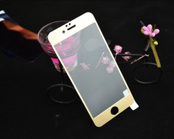 best quality color coating glass screen cover for iphone 6