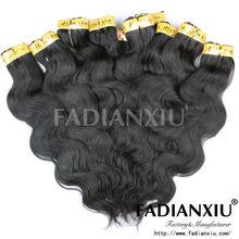100% Peruvian virgin remy hair extensions factory price bundles hair