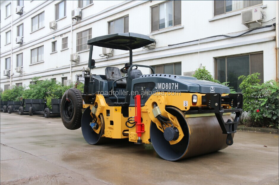 HIGH EFFICIENCY STATIC AND THREE WHEEL ROAD ROLLER