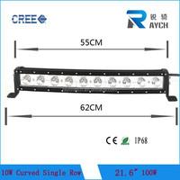 "Hot Sale! 22"" 100W High Power LED car Light bar, LED work light bar car, single row led light bar for Offroad SUV"