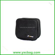 Waterproof Black Polyester Cosmetic Bags for Men