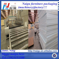 Has heat seal operation automatic mattress film packaging machine
