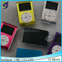 Fancy mini mp3 music player for gift