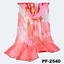 Sexy Women's Soft Silk Scarf Wrap Shawl Stole Chiffon Neck Wrap Scarf