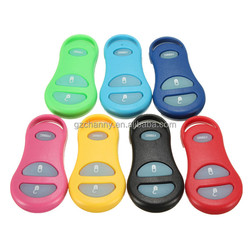 New CAR 7 COLORS 3 BUTTON NIGHT GLOW KEYLESS REMOTE KEY FOB SHELL CASE PAD FOR DODGE 98-04