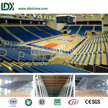 Basketball mansion portable large capacity auditorium seating system