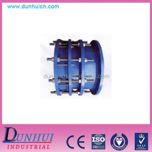 double flanged ductile iron pipe fitting dismantling joint