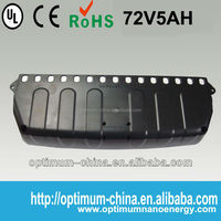 Chinese lifepo4 segway batteries 72V5AH