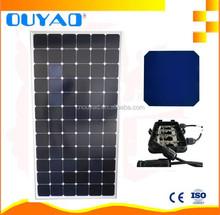 High efficiency USA Sunpower solar cells mono solar panel 200w