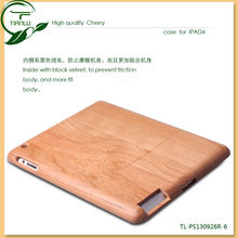 Wholesale Hot for iPad mini Back Wooden Case,cherry wood case cover