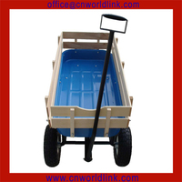 Wholesale 1801T Heavy Duty Foldable Nursery Wooden Bollerwagen