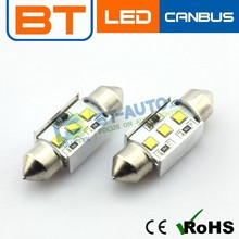 9W 12V CREE-XBD Chip Canbus Dome 3 LED C5w SMD Interior Bulb Light 36mm C5w C10w Car LED