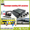 Cheapest GPS tracking bus dvr people counter wireless Built-in Heater