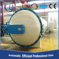 Professional automatic plant for creosote poles