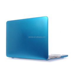 Metallic oil hard pc shell case for macbook case,for macbook pro 15'' with retina display, factory price ,OEM welcomed