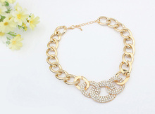 stainless steel link chain necklace,chain necklace xuping jewelry