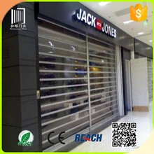 Commercial Polycarbonate Transparent Roller Shutter Door