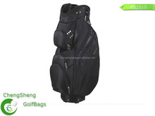 Waterproof golf bag with rain cover