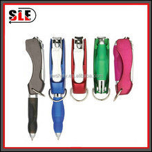 Mmultifunctional promotion gift pen with nail clipper