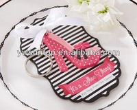"""Newest Fashion """"It's a Shoe Thing!"""" High-Heel Shoe Keychain Party Favors"""