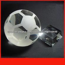 bola de cristal con la base