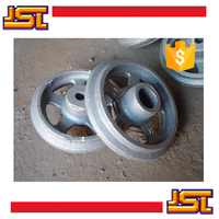 Custom sand casting cast iron flywheel