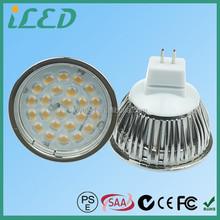 2835 SMD MR16 GU5.3 LED Light Spot 5W Dimmable 60 Degrees Cool White 6000K MR16 12V 5W LED
