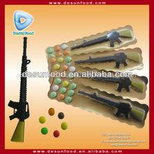 pressador doces com doces do brinquedo arma de brinquedo