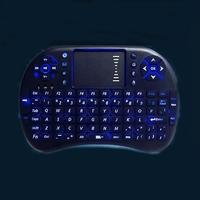 i8+ 2.4G Wireless Mini Fly Mouse Keyboard With Backlight LED for buttons or backlit buttons