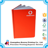 Customized size school use promotion fashional memo book