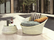 AGS-11 PE Wicker Rattan sun bed & daybed & chaise lounge