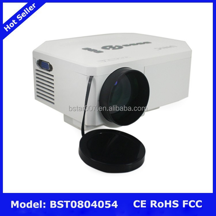 Uc30 mini led protable projector 1080p projector hd 3d for Micro projector 1080p