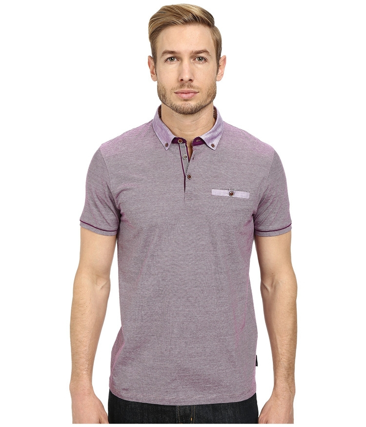 2015 latest custom mens microfiber polo shirt from factory for Custom polo shirt manufacturers