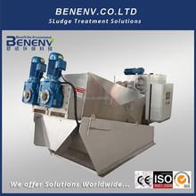 Industrial máquina de deshidratación de lodos