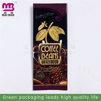 factory custm design eco coffee stand up zipper pack pouch