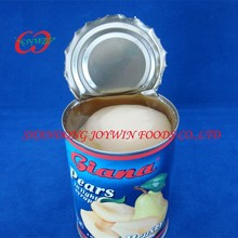 Cheap price canned fruit, Good taste canned pear halves in light syrup