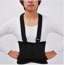 2015 aofeite caldo- vendita aft-y002 ortopedica cinghia di sostegno posteriore con annesso bretelle nero made in china