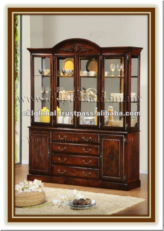 Buffet And Hutch Wooden Furniture Dining Room Home