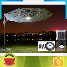 Beach Sunshade Patio Umbrella for Outdoor use with high quality with LED light