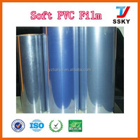 Factory Normal clear PVC film transparent PVC with non-stick