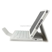 For Google HTC Nexus 9 Removable Wireless Bluetooth Keyboard With PU Leather Case Stand Cover