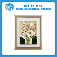 Contemporary adornment beautiful flowers pattern hanging wall painting