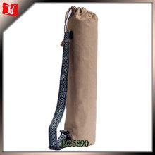 Fashion woman yoga mat bag natural material yoga tote bag