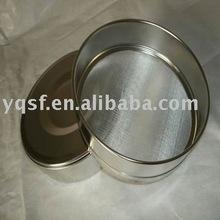 Suministro de acero inoxidable estándar tamiz de pruebas (Hecho en china)