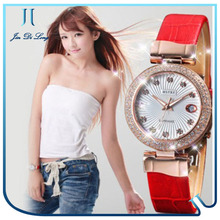 New product high quality luxury rose gold diamond quartz women Watches