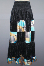 Casual fashion ladies maxi long skirts AS251#