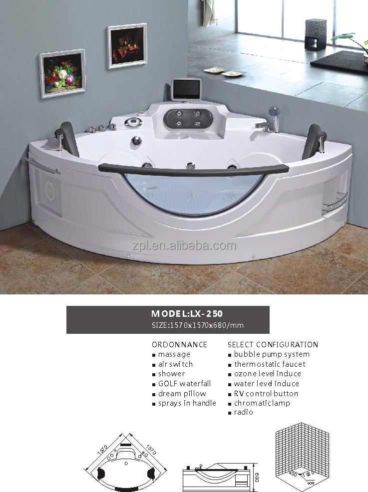 Haute qualit multifonction en plastique grande baignoire baignoire bains th rapeutiques id de for Comgrande baignoire plastique
