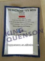 agricultural Hexazinone 75% WDG hexazinone herbicide
