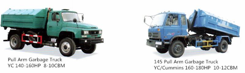 Rubish Truck Garbage Truck 4X2 Compactor Garbage Truck